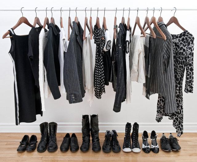 sprzątanie ubrań