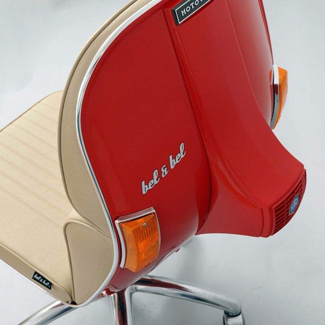 krzesło obrotowe vespa